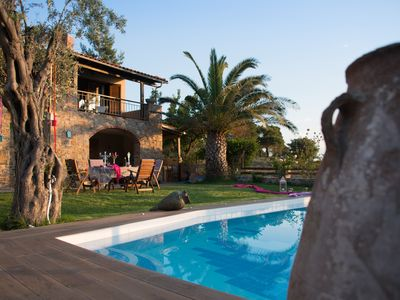 Stone house with private pool near the sea!!!
