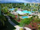 Water Slide & Playground Pools view from terrace - Loiza condo vacation rental photo