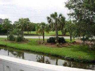 Wild Dunes villa photo - View of Lagoon & Golf Course