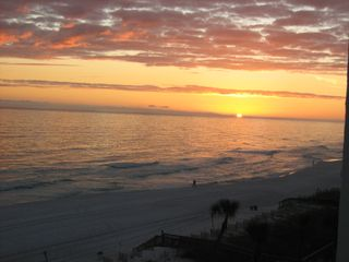 Taken from the balcony! WOW... - Fort Walton Beach condo vacation rental photo