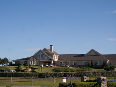 Currituck Club club house, short walk from house