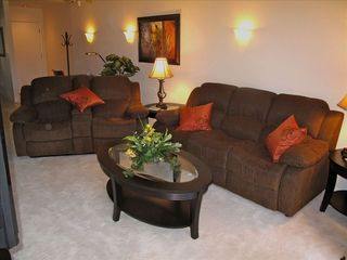 Phoenix condo photo - large family room with queen sofa bed and double recliner