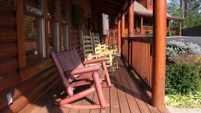 Enjoy a relaxing evening on your front deck.