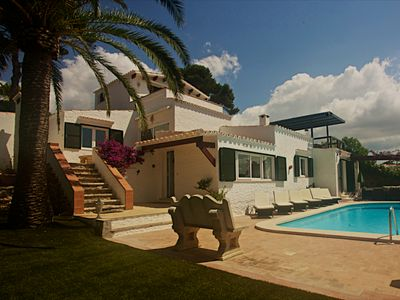 Delightful, Large Five Bedroomed Villa With Attractive Gardens and Private Pool