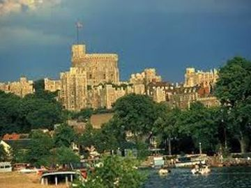 Windsor Castle Across The Thames