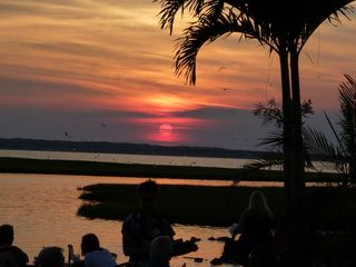 Bel Mare Ocean City condo photo - sunset Fager's Island Oh how BEAUTIFUL!!!! Great food, drinks and entertainment.