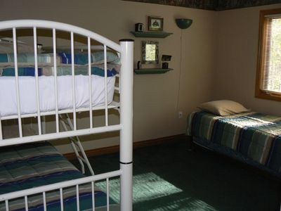Crystal Mountain, Thompsonville house rental - Bunk Room sleeps 4