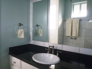 South Padre Island condo photo - Elegant 3 1/2 Bathrooms with Granite Counters and Marble Walls & Floors