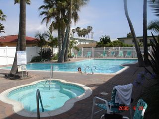 Pacific Beach condo photo - The Pool Area at the Capri