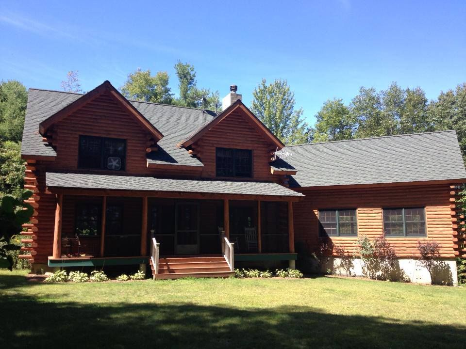 Beautiful Vacation Log Home With Water Views Vrbo