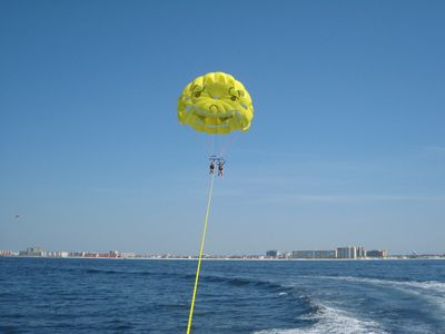 Parasailing on the gulf!