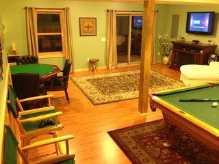 Massanutten house photo - Rec room - lots of space for everyone to do their own thing while being together