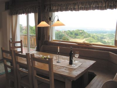 ... Quiet moments and a special view for the discerning connoisseur,