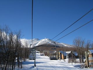 Jay Peak condo photo - The Village chair that serves the Village