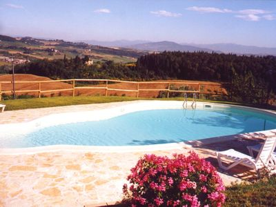 Montespertoli apartment rental - Swimming Pool