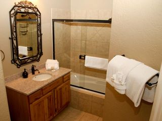 Branson condo photo - 2nd Bathroom with Granite Sinks, Tub & Shower