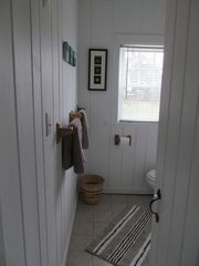 hallway view of bathroom - Wellfleet cottage vacation rental photo