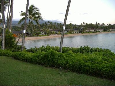 Our beautiful. lovely, Napili Bay from the far end of the bay.