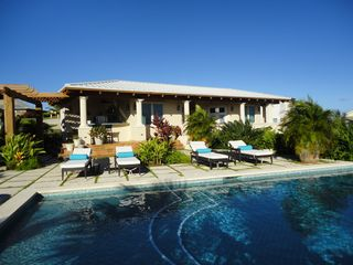 Vieques Island villa photo - Swim in the 20'x40' saltwater pool