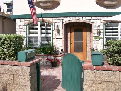 Property front entry from Coronado Court