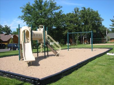 Interlachen Play Area and Volleyball Court