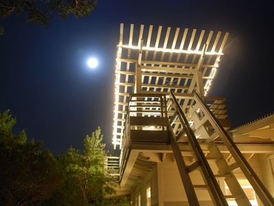 Upper Trellis at night
