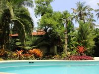 Tropical Beach Villa with Swimming Pool, Walking Distance to Town and Beach