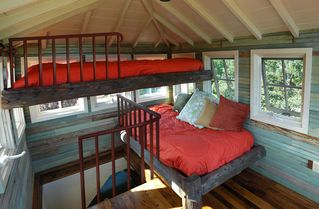 Owls Head apartment photo - The Tree House, with Bunk Beds (Lookout Tower)