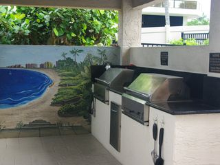 Somerset condo photo - New Charcoal Barbeques: Charcoal and Lighter provided!
