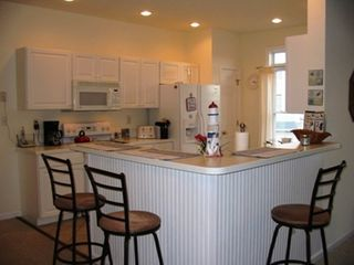 Fenwick Island townhome photo - Easy living comes with the Breakfast Bar surrounding the Kitchen