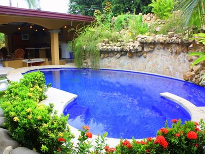 Private Pool w/Jacuzzi Party Rancho- Swim up Bar!