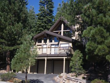 Tahoe Donner house rental - Serene wooded setting with mountain views