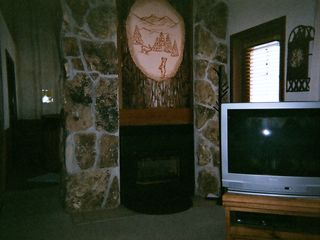 Granby condo photo - Gas Fireplace and Cable TV, Free WIFI too!