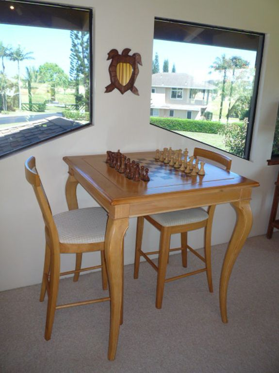 The Game Table - Chess, Checkers, Backgammon