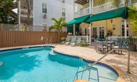 Lovely room in historic bed & breakfast w/ shared pool & a semi-private balcony