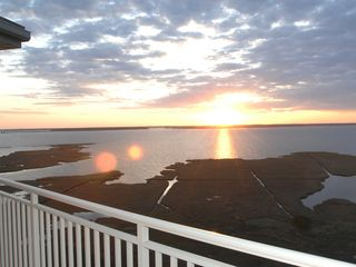 Rivendell Ocean City condo photo - Bay view looking South from balcony!