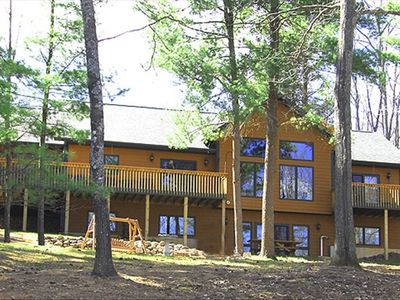 Stone lake northern wisconsin vacation cabin rental 3 bed for Northwoods wisconsin cabin rentals