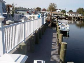 Manahawkin house photo - dock view