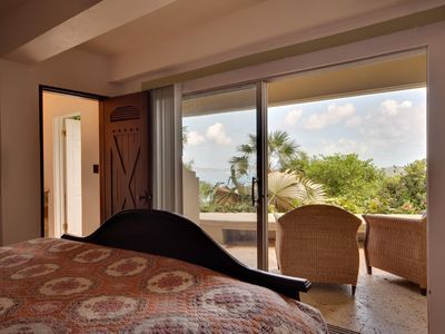 Lower East Bedroom with views to Jost Van Dyke
