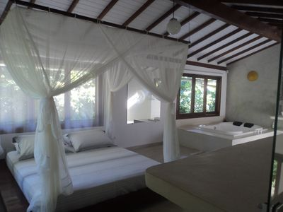 House Trancoso - Bahia - suite with hydro and AC - Optional: + 1 suite + chalet