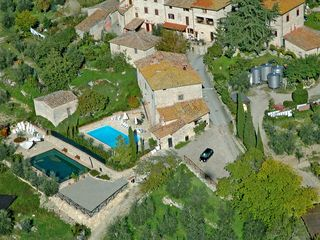 Gaiole in Chianti villa photo - Closer view of the Hamlet (12 houses in total and the real 'Italian experience'