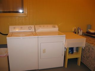 Private Homes cottage photo - Washer and dryer