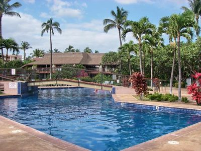 Kihei condo rental - Largest, best Pool & Spa!