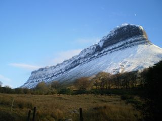 County Sligo house photo - Iconic Benbulben Mountain