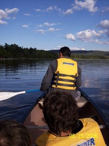 Brassua Lake house rental - Canoe and motorboats available