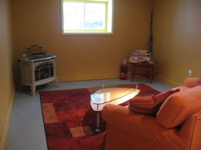 Margaretville house rental - Rest and relax downstairs