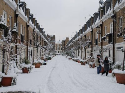 The Mews in Winter