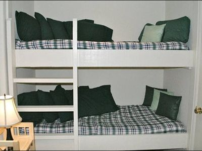 Twin Beds in an Alcove for Additional Sleeping Room