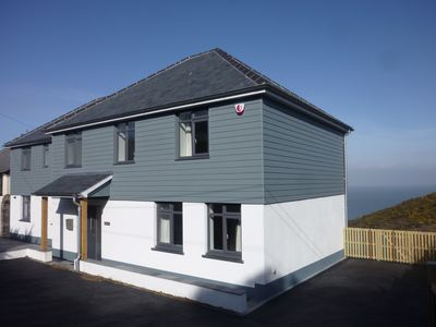 Large, Luxurious, Contemporary Family Holiday Home With Stunning Sea Views