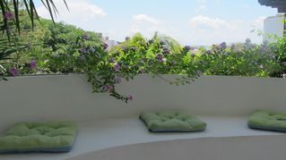 Playa del Carmen condo photo - Private area of the outside part of your vacational home